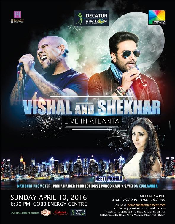 Vishal and shekhar Live Concert