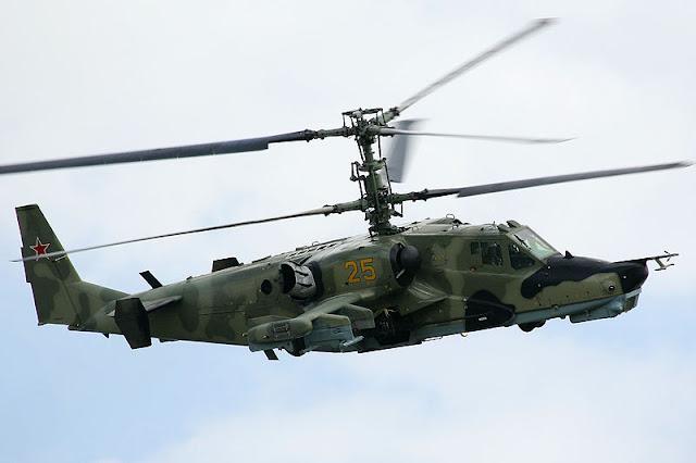 Gambar 03. Foto Helikopter Tempur Kamov Ka-50 Black Shark