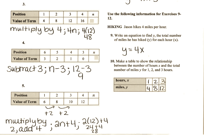 Grade 6 Math with Ms  Eringis : review sheet answer key ch