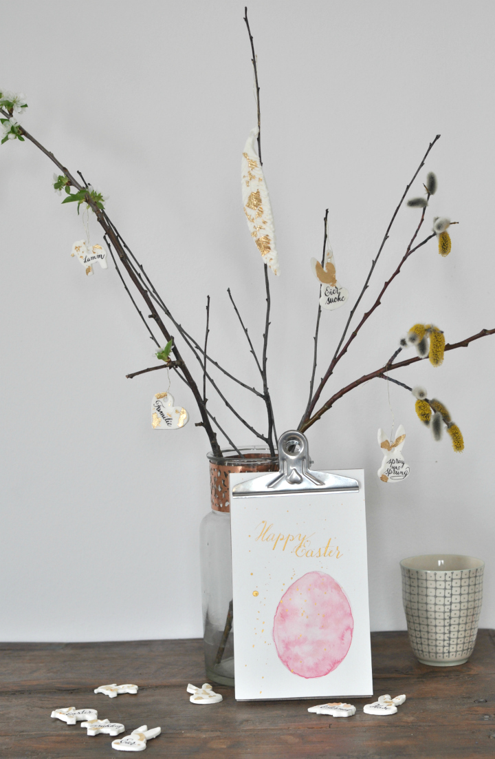 easy-peasy DIY Easter Decoration, great for crafting with kids!