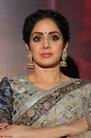 Sri Devi in designer saree stunning beauty at the launch of MOM movie Trailer~  Exclusive 092.JPG