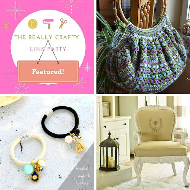 The Really Crafty Link Party #14 featured posts!