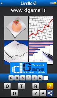 PACCHETTO 6 Soluzioni Trova la Parola - Foto Quiz con Immagini e Parole livello 6