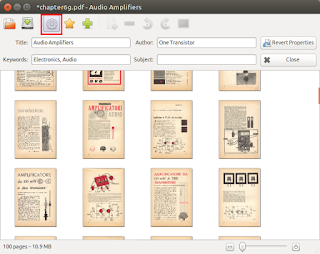 Metadata editing with PDF Mod screenshot