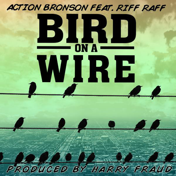 Action Bronson - Bird On a Wire (feat. Riff Raff) - Single Cover