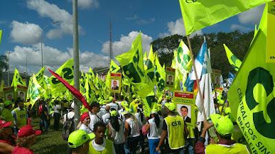 Centrais sindicais realizam Dia Nacional de Mobilização Rumo à Greve Geral