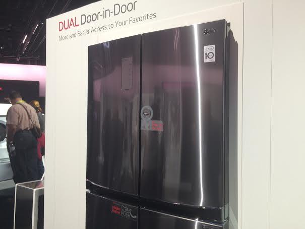 Tủ lạnh Door-in Door trình làng tại CES 2016