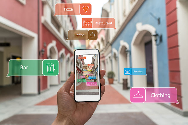 augmented-reality In iOS appeared Google Lens Apple