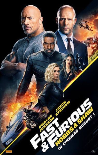 Poster of Fast & Furious Presents: Hobbs & Shaw (2019) Dual Audio [Hindi-Cleaned] 720p HDCAM Free Download