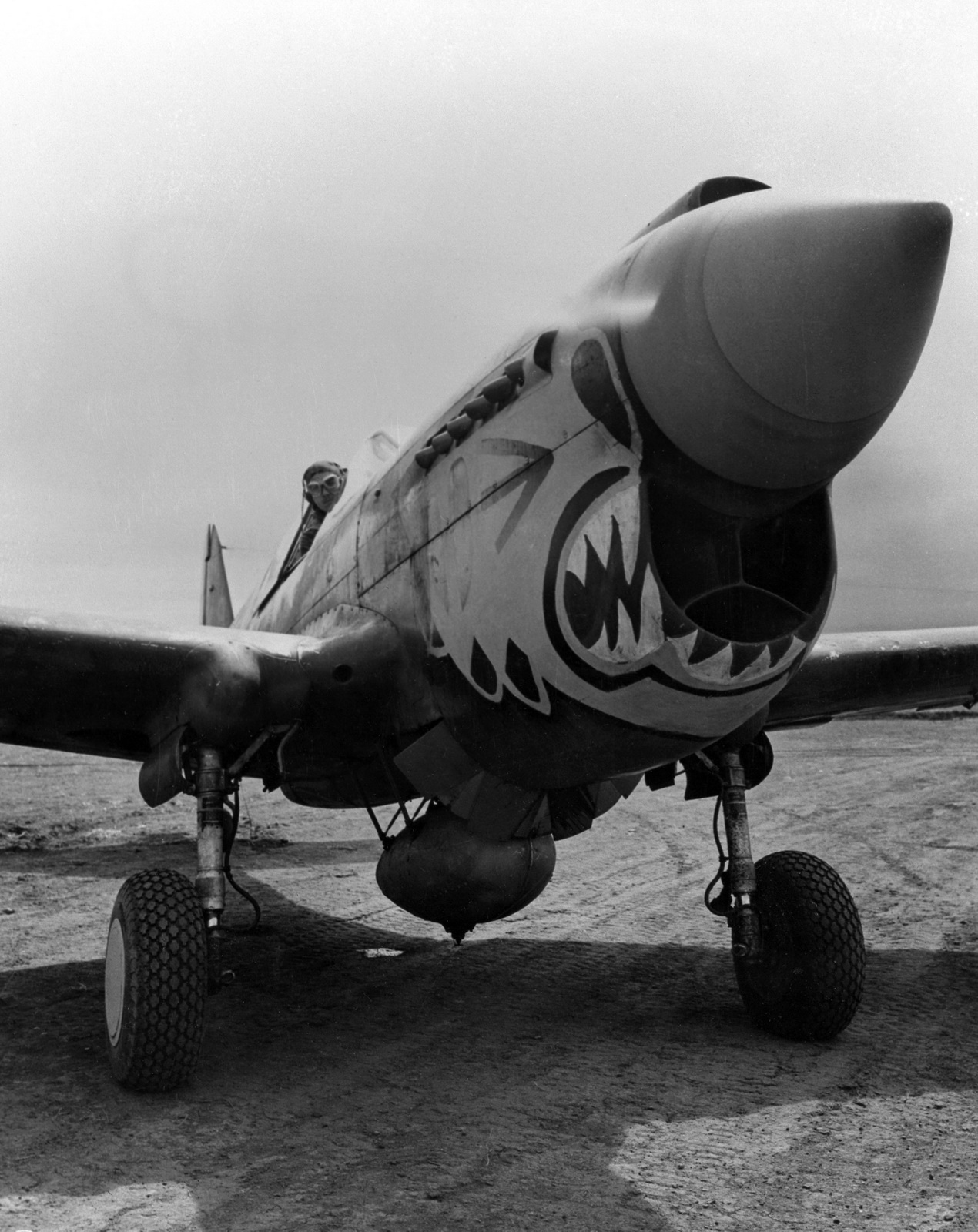 World War Ii Pictures In Details P 40e Warhawk Of 11th