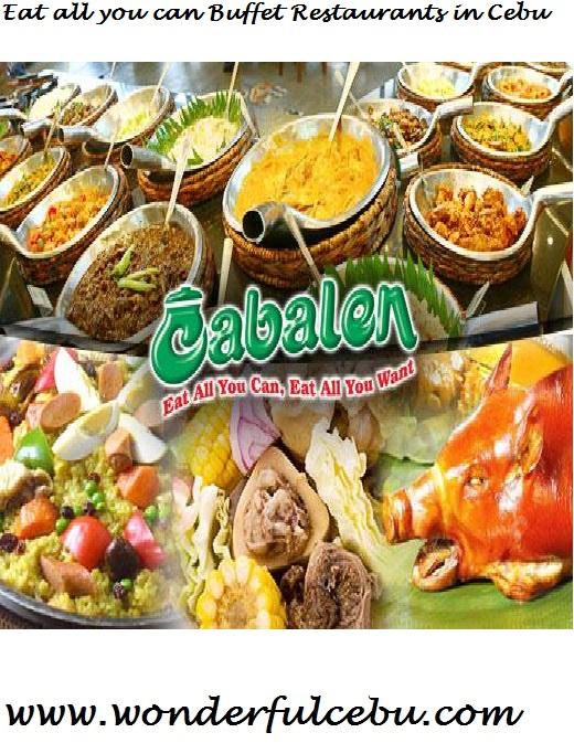 eat all you can in cebu list of buffet places in cebu wonderful cebu rh wonderfulcebu com