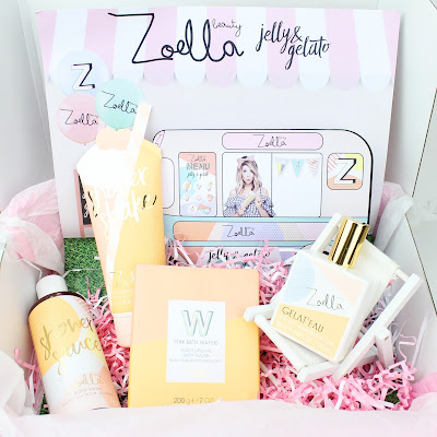 Zoella Beauty Jelly & Gelato Collection Review Shower Sauce Shower Shake Bath Fizzer Gelat'eau Body Mist