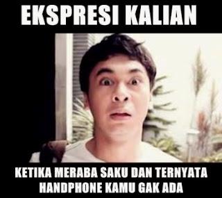 gambar foto bbm handphone ekspresi