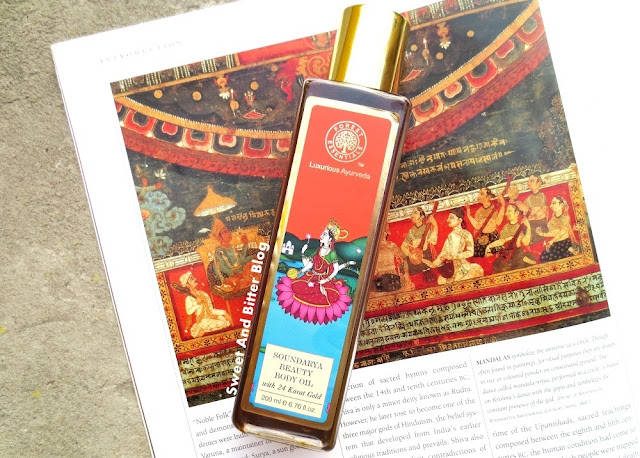 Forest Essentials Soundarya Beauty Body Oil with 24 Karat Gold Ayurveda Review