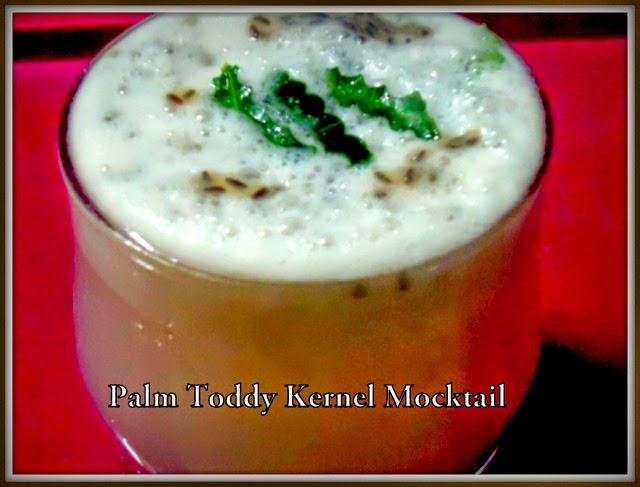 palm toddy kernel mocktail