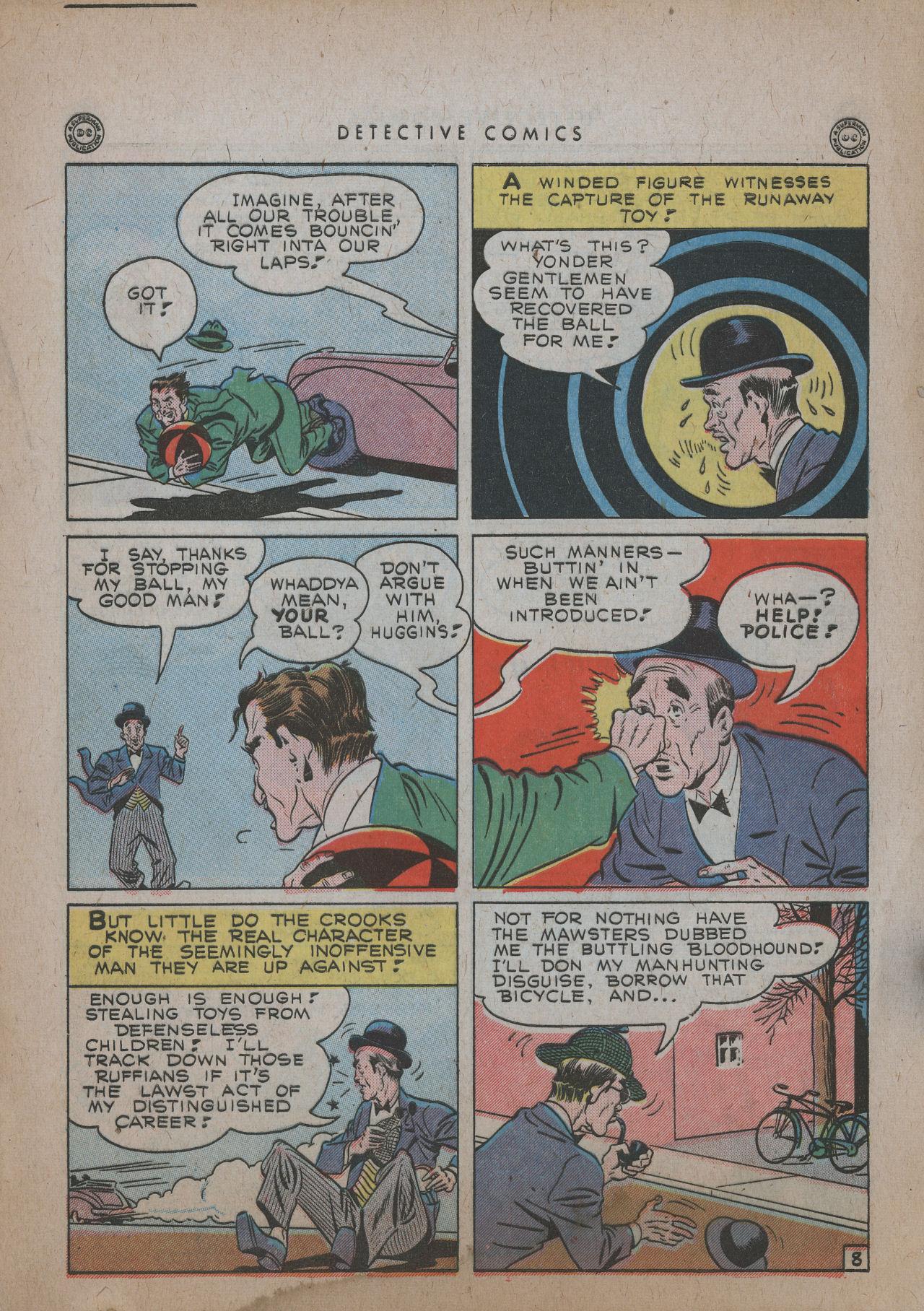 Read online Detective Comics (1937) comic -  Issue #101 - 10