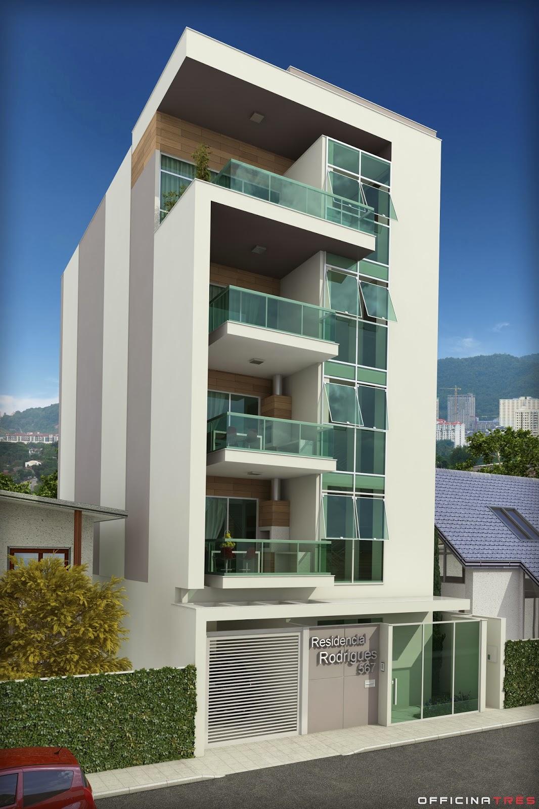 Officinatr s pr dio residencial em manhua u mg for Fachadas de hoteles de lujo