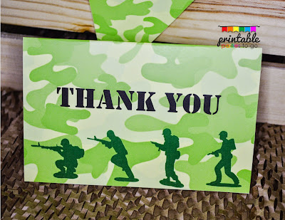 ●●●ARMY MEN PARTY PRINTABLE SET●●●