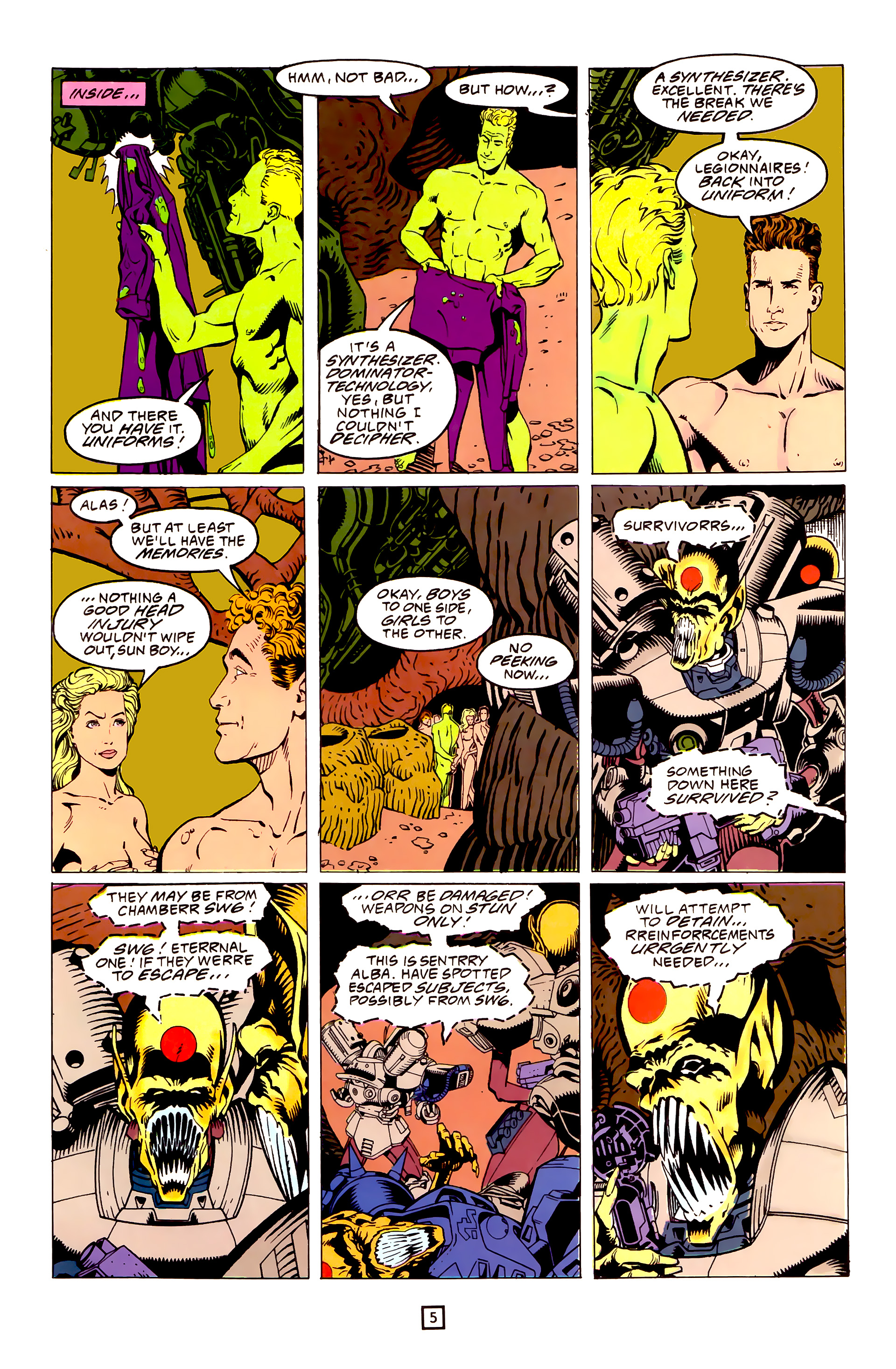 Legion of Super-Heroes (1989) 25 Page 5