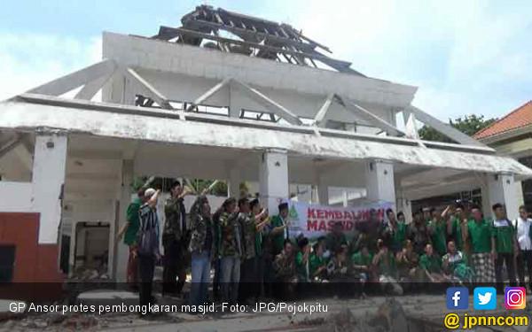 Masjid di Surabaya Dibongkar, GP Ansor Kecewa pada Bu Risma