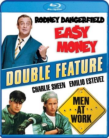 Poster Of Men at Work 1990 Dual Audio 720p BRRip [Hindi - English] Free Download Watch Online