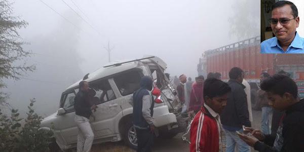 जिला महिला एवं बाल विकास अधिकारी आरएस जमरा का सड़क दुर्घटना में  निधन