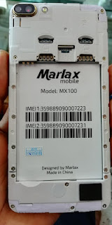 Marlax Mx100 Flash File MTK6580 Andriod Official Firmware Without Password