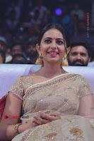 Actress Rakul Preet Singh Stills in Golden Embroidery saree at Rarandoi Veduka Chuddam Audio Launch .COM 0008.jpg