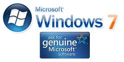 Image result for genuine windows 7
