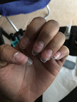 fake acrylic nails no acrylic