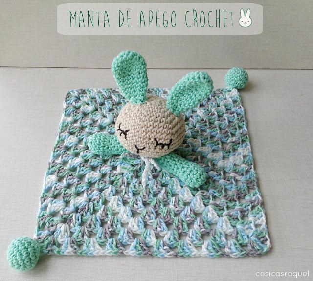 Cosicasraquel Manta De Apego Crochet - Mantas-bonitas