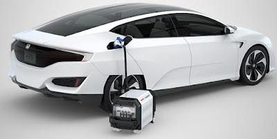 2017 Honda Clarity hybrid plug