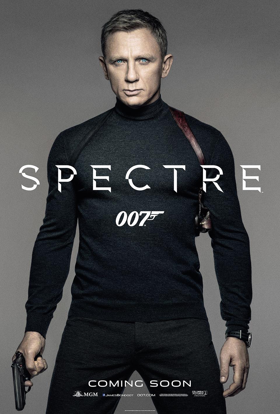 james bond 007 film recenzja plakat daniel craig