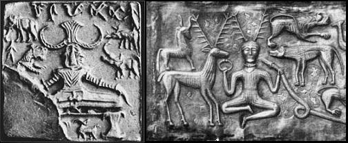 The Horned Gods - Pashupati & Cernunnos