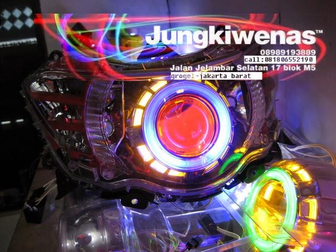 Juragan Lampu Projie Hid Aes Led Lampu Projie Yamaha Soul Gt