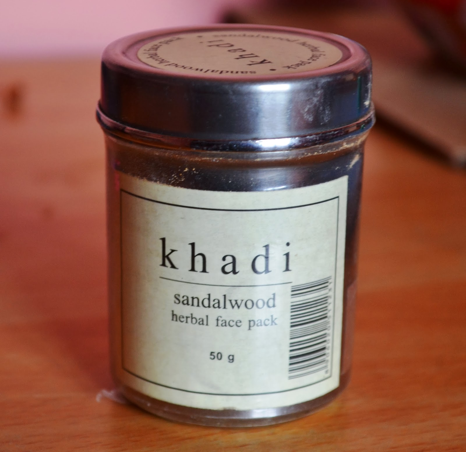 Khadi Sandalwood Herbal Face Pack Review And Pictures