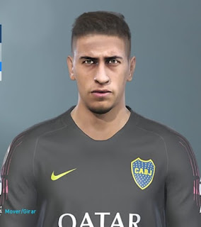 PES 2019 Faces Esteban Andrada By Octavio Facemaker