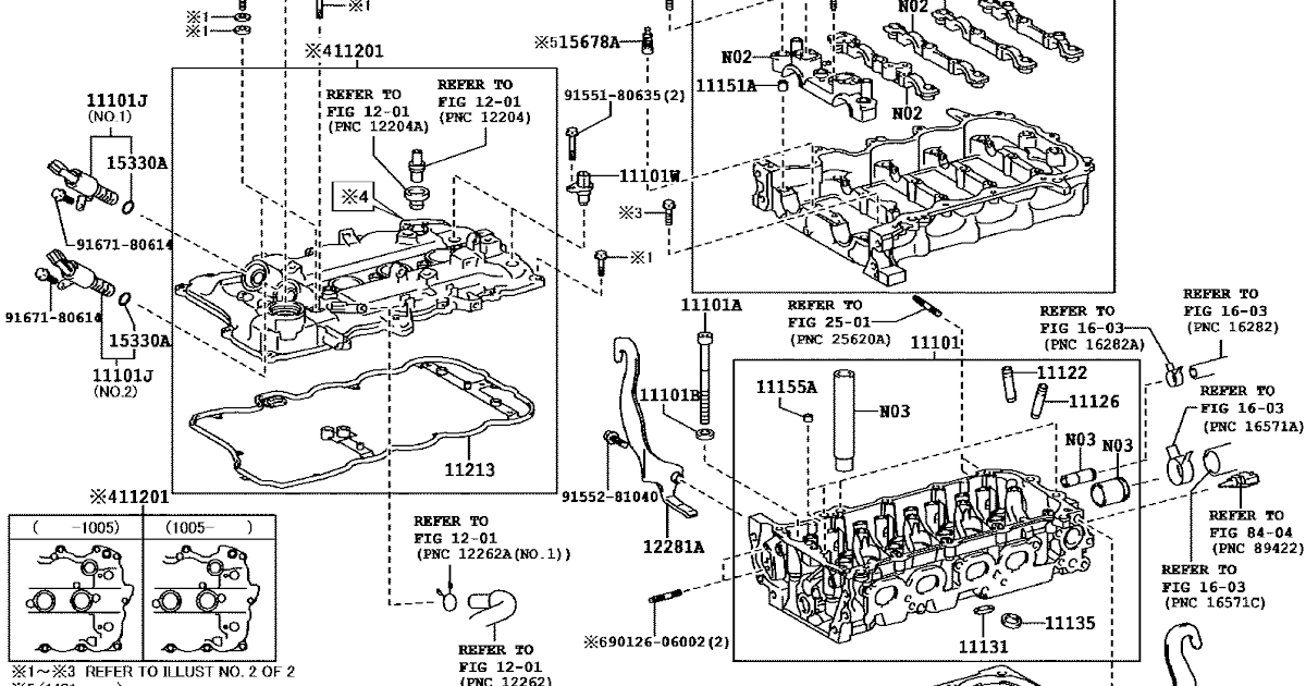 KP Gasket: Toyota 1NR-FE and 2NR-FE Rocker Cover Gasket