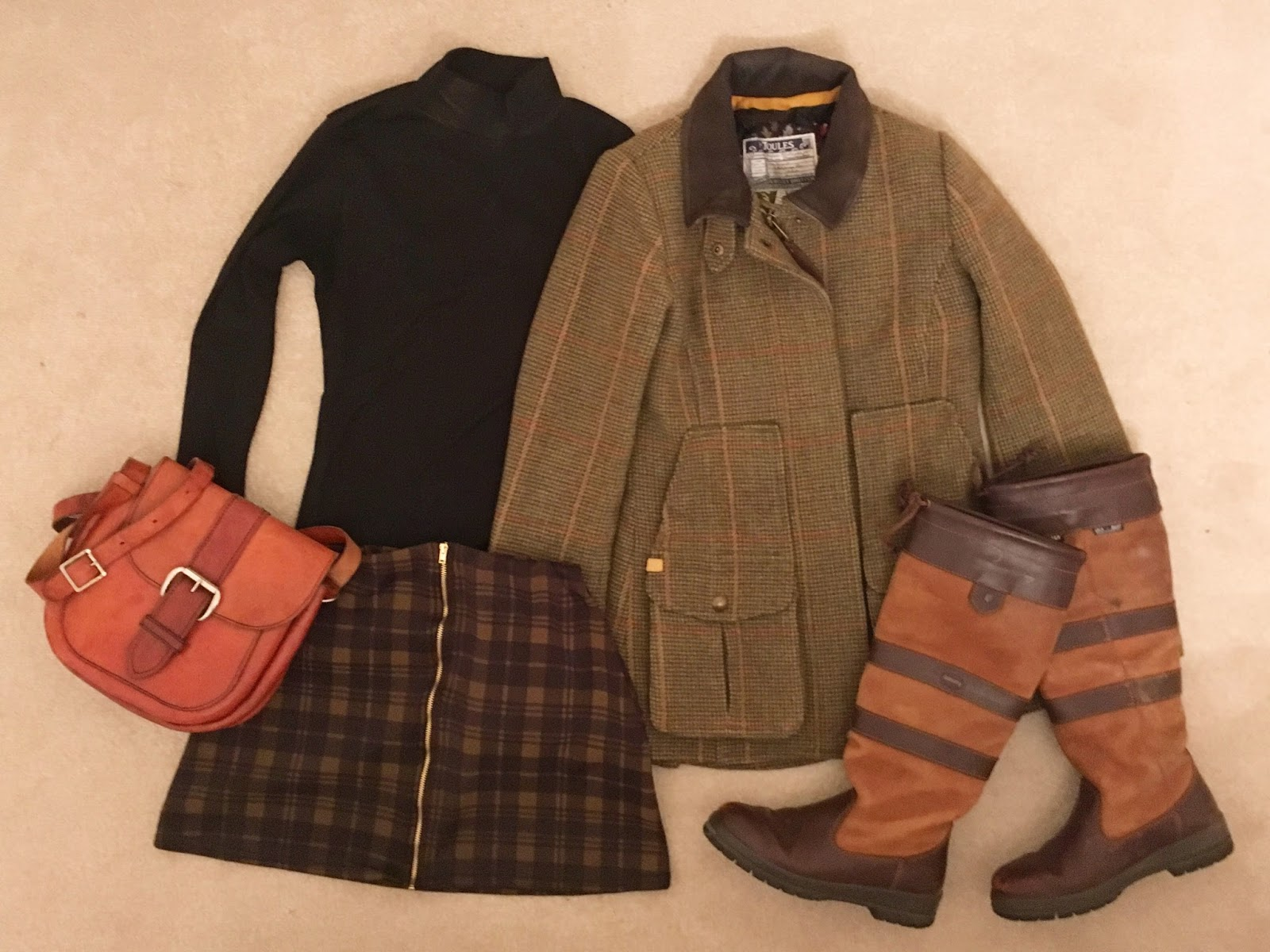 charlotte in england blog - outfit inspiration how to wear modern country style fashion