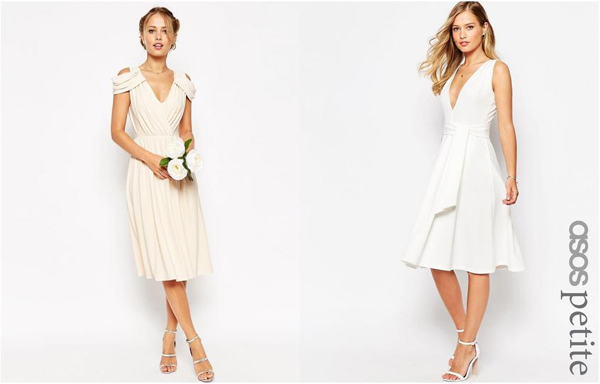 1fb0722bef Po lewej oryginalna a zarazem klasyczna sukienka z kolekcji ASOS WEDDING    Po prawej urocza i elegancka sukienka z kolekcji ASOS PETITE