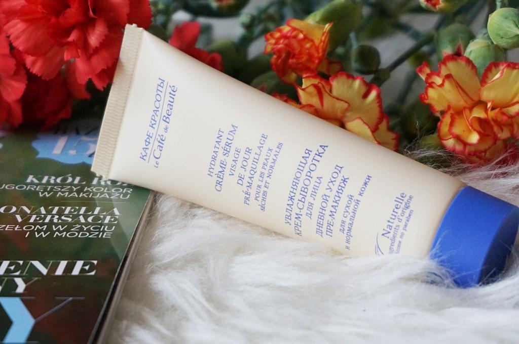 Salon Piękna - kremowe serum pod makijaż do cery suchej i mieszanej - bo dobra baza to podstawa!