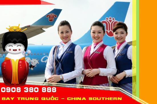 Giá vé máy bay đi Trung Quốc tháng 11 hãng China Southern Airlines