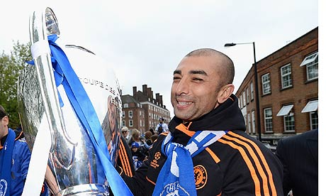 roberto di matteo sacked from chelsea