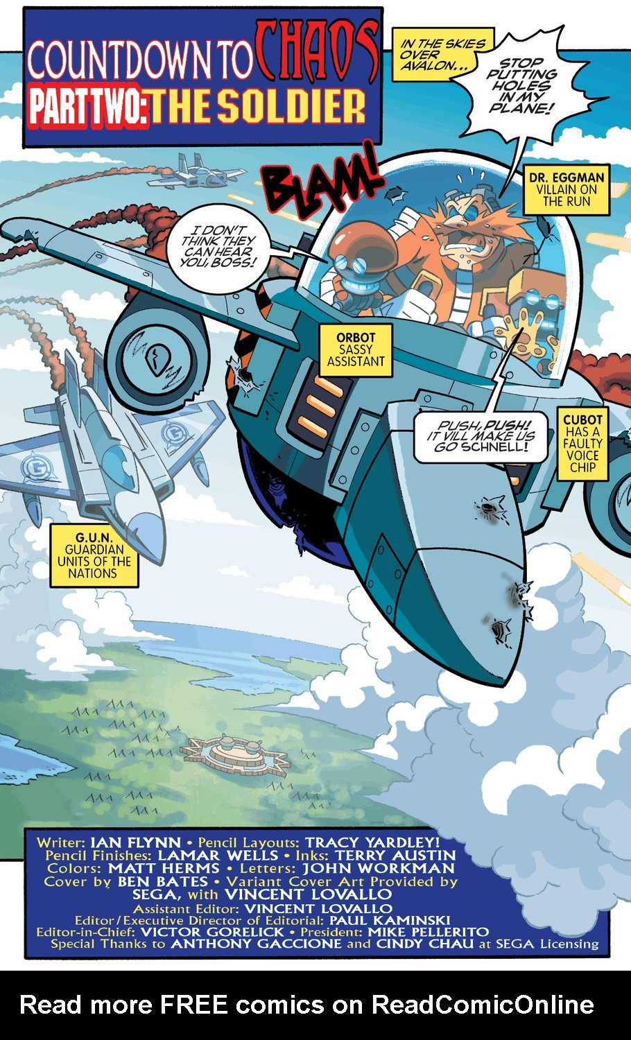 Read online Sonic The Hedgehog comic -  Issue #254 - 3
