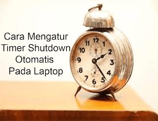 cara shutdown otomatis cmd