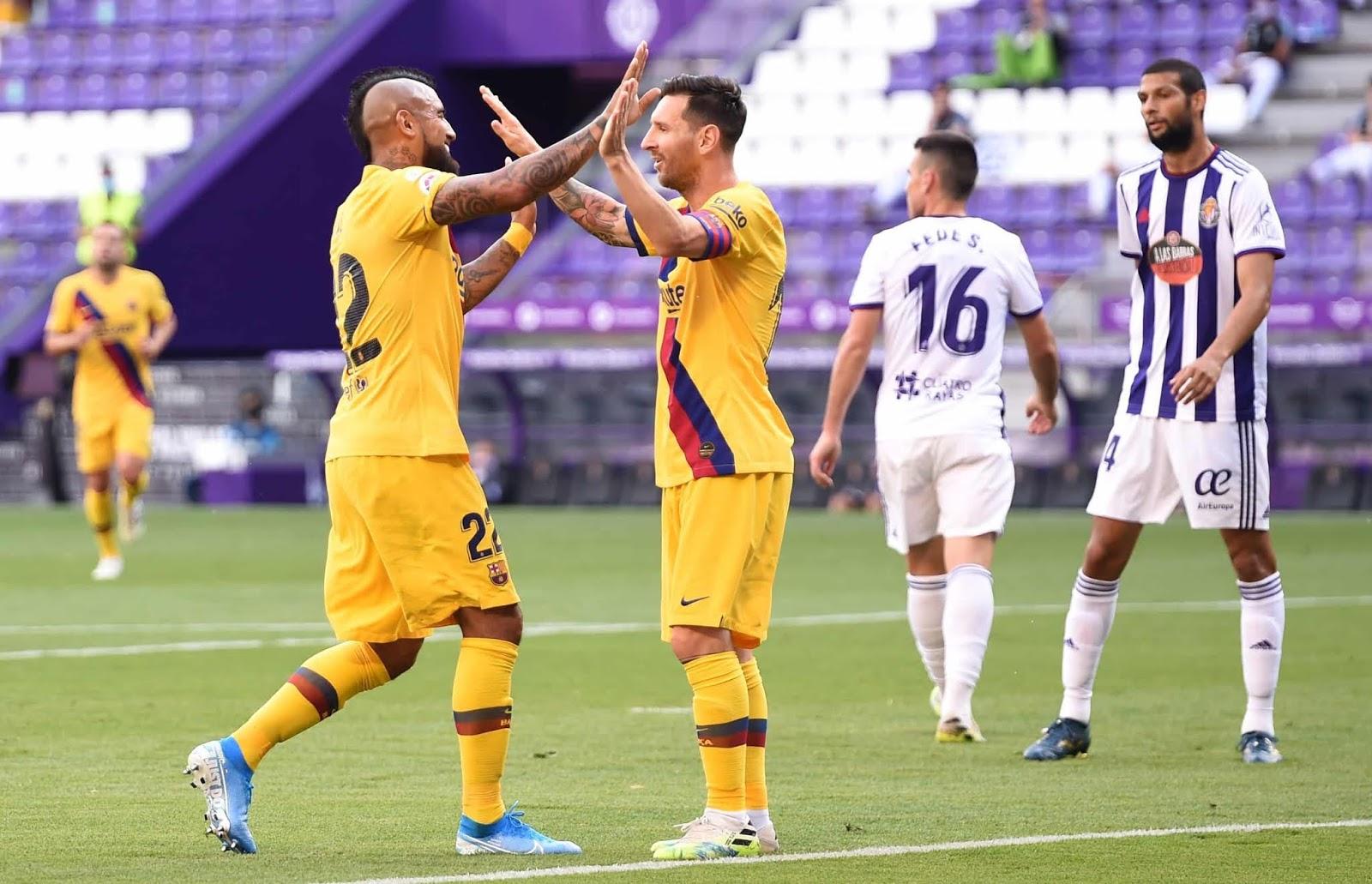 Barcelona ganó con un récord de Messi y le mete presión a Real Madrid