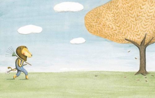 El león y el pájaro: Una preciosa historia ilustrada sobre una de las concesiones más difíciles de hacer en la vida