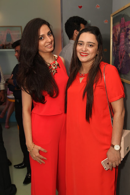 Ruchika Oberoi with Jazbi Moin