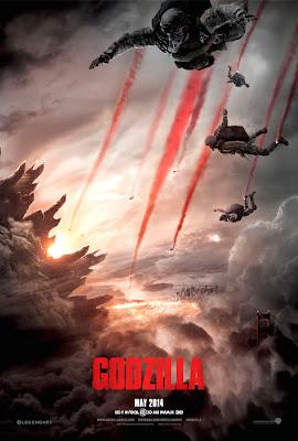 Poster oficial Godzilla 2014