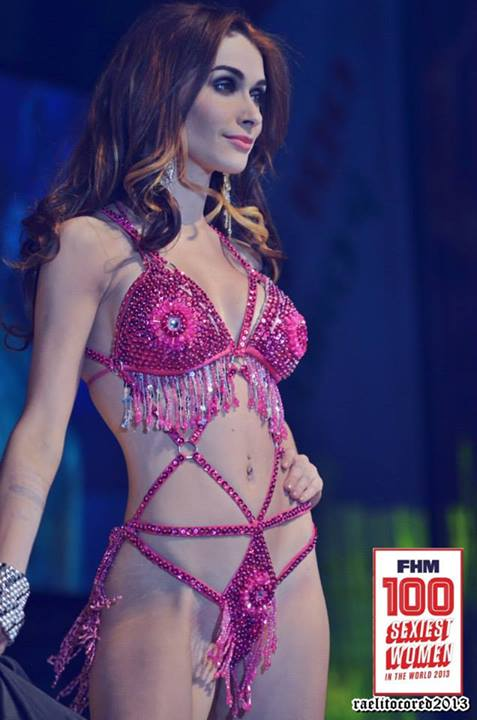 abby poblador in fhm victory party 2013